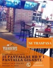 Traspaso Restaurante Bar