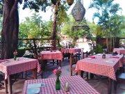 Restaurante con Jardín Terraza a un paso del Mar, Buen potencial