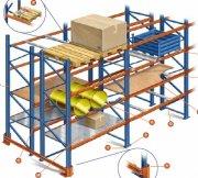 Distribuidor de sistemas de almacenaje y estantes industriales