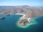 playa santispac y playa santa ines en bahia concepción