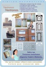 Rotulación, decoración de muros y ventanas