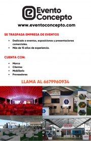 Empresa de eventos con mobiliario en Culiacán
