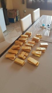 Oro en polvo y bares para la venta (23 quilates)