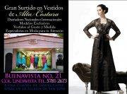 Empresa dedicada a la Confección  y Venta de Vestidos de Noche